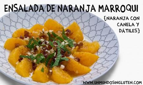 ensalada de naranja marroqui