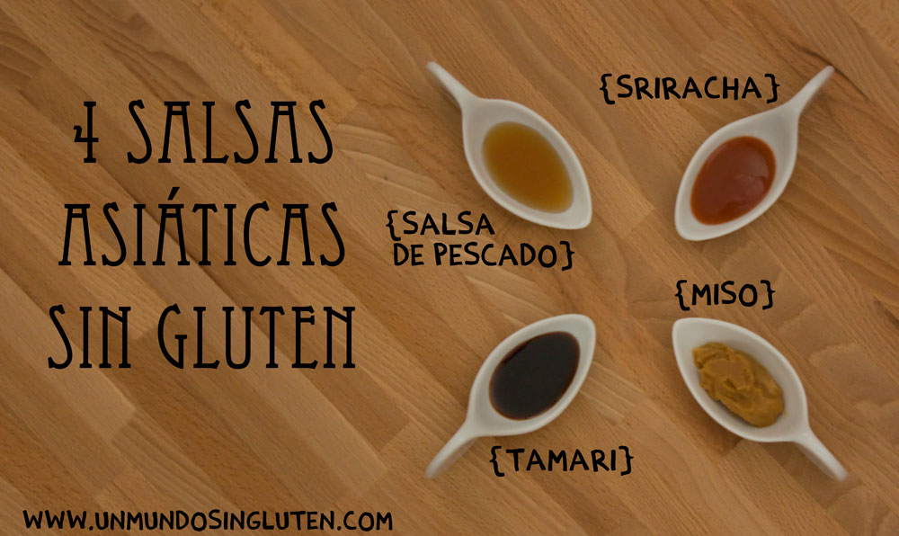 salsas asiaticas sin gluten